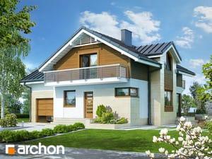 Projekt domu ARCHON+ Dom medzi marhuľami 3