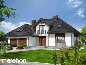 Projekt domu ARCHON+ Dom v kalateách 3