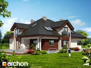 Projekt domu ARCHON+ Dom pri hebe 2