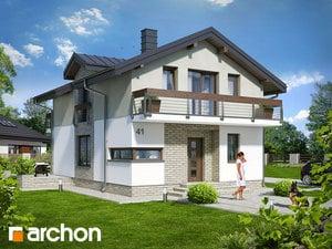 Projekt domu ARCHON+ Dom v budlejách (W)