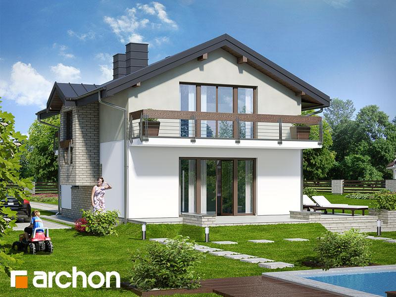Dom v budlejách (W) - Vizualizácia 2