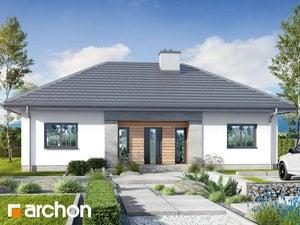Projekt domu ARCHON+ Dom v kostravách 6