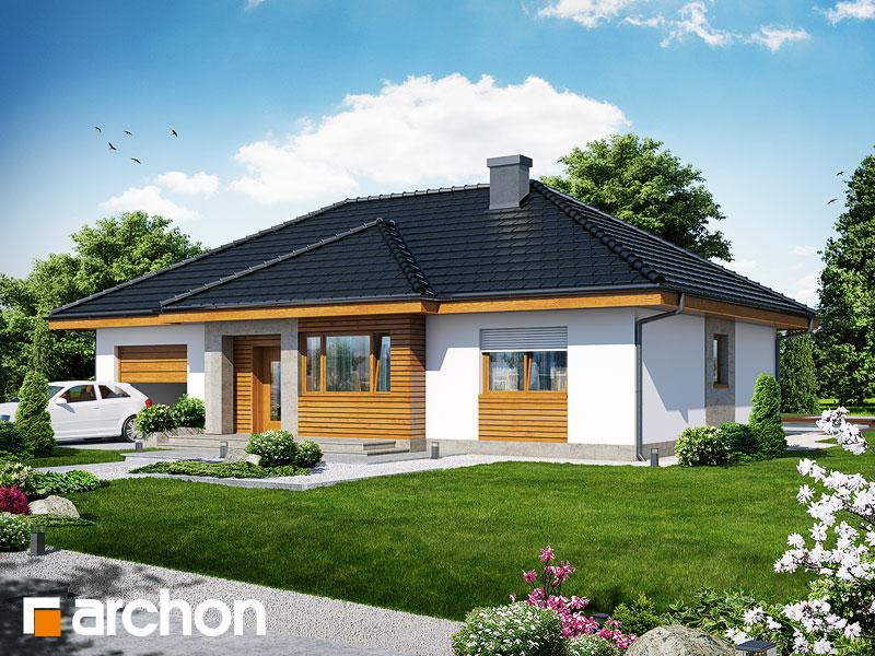 Dom v akébii 3 - Vizualizácia 1