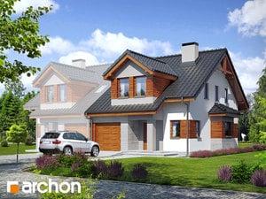 Projekt domu ARCHON+ Dom v plamienkoch 9 (B) ver.2