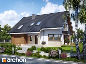Projekt domu ARCHON+ Dom v idaredách