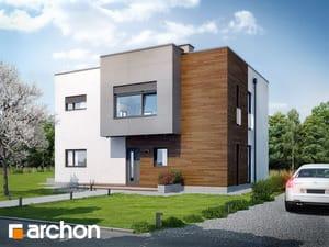Projekt domu ARCHON+ Dom v krotónoch