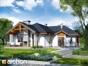 Projekt domu ARCHON+ Dom v kozobradách