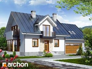 Projekt domu ARCHON+ Dom medzi rododendronmi 6 (G2N) ver.2