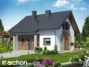 Projekt domu ARCHON+ Dom - miniatúrka (N)