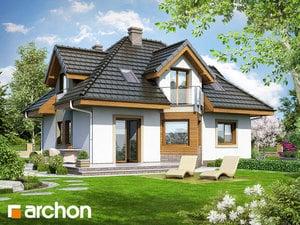 Projekt domu ARCHON+ Dom pri nezábudkách (N)