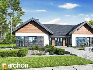 Projekt domu ARCHON+ Dom medzi kliviami 9 (G2)