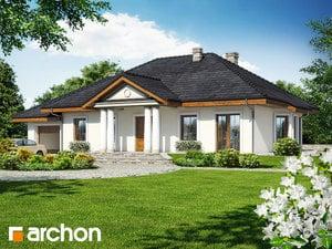 Projekt domu ARCHON+ Dom medzi gaurami 2
