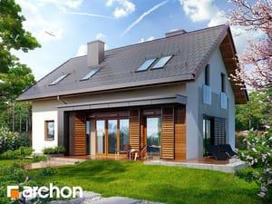 Projekt domu ARCHON+ Dom medzi klárkiami