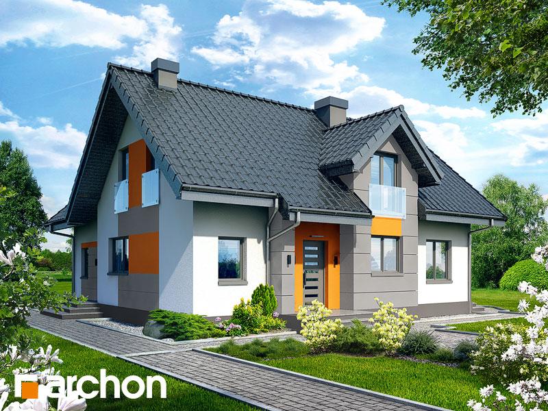 Dom v púpavkách 2 - Vizualizácia 1