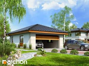 Projekt domu ARCHON+ Garáž pre dve autá G18
