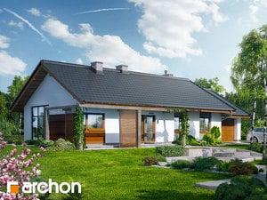 Projekt domu ARCHON+ Dom pod jabloňami