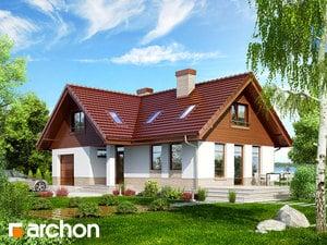 Projekt domu ARCHON+ Dom uprostred manga 2
