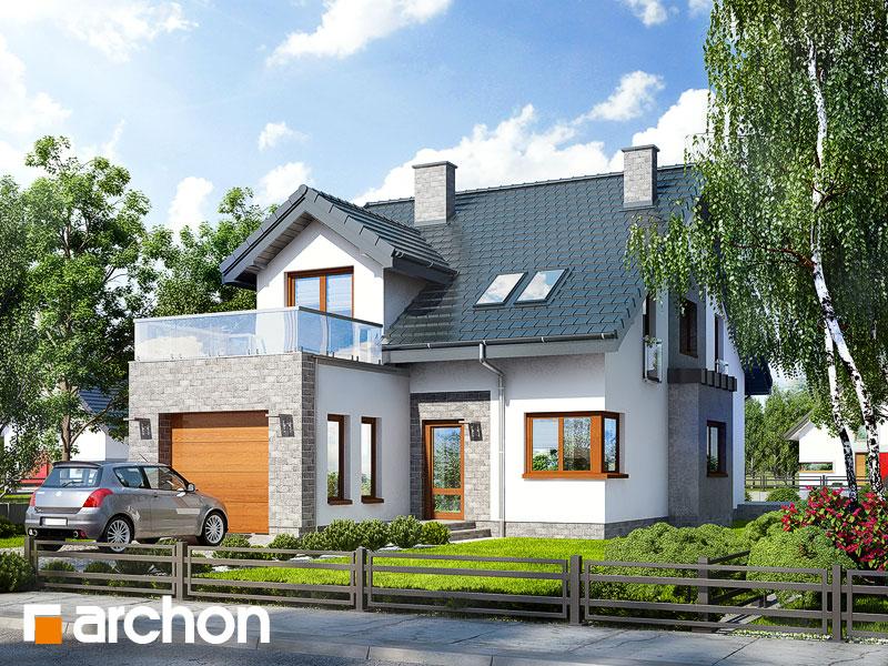 Dom v čili - Vizualizácia 1