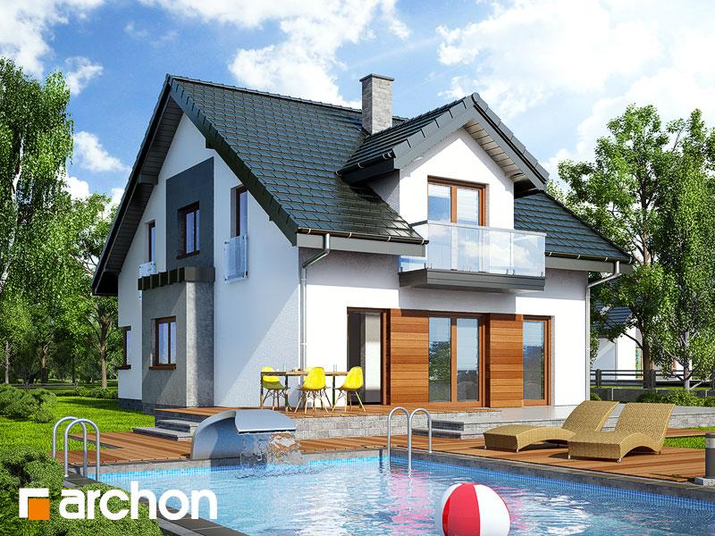 Dom v čili - Vizualizácia 2