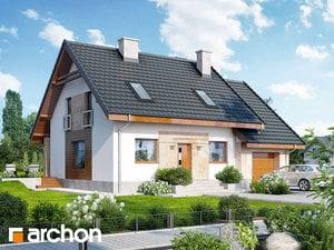 Projekt domu ARCHON+ Dom vo filodendrónoch
