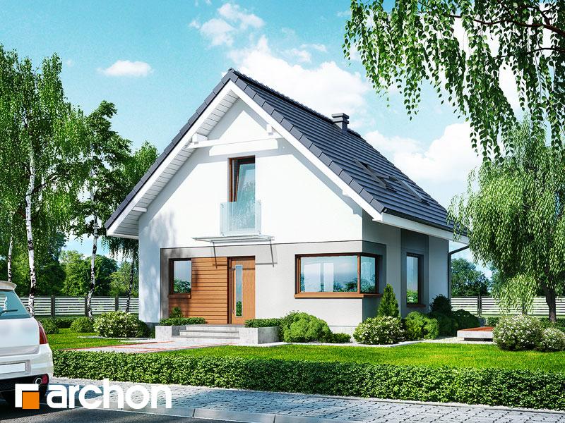 Dom medzi rododendronmi 11 (N) - Vizualizácia 1