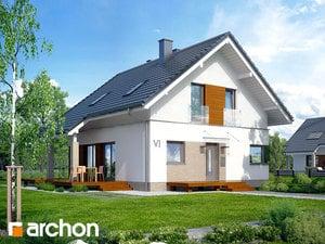 Projekt domu ARCHON+ Dom v ovsi 2