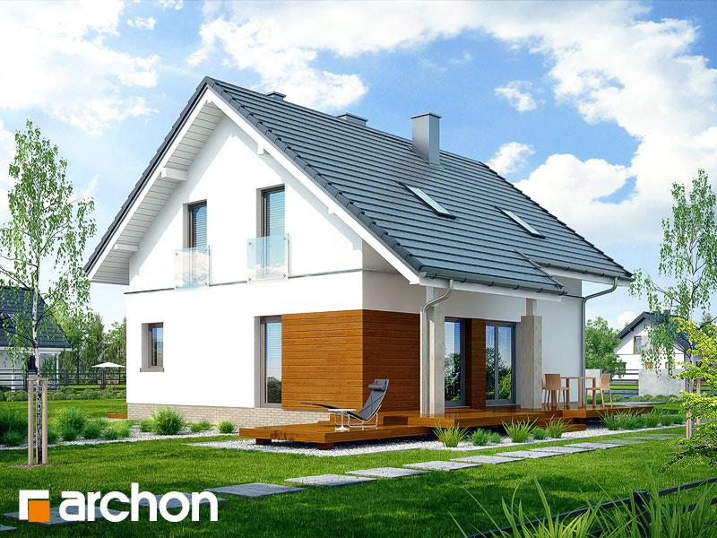 Dom v ovsi 2 - Vizualizácia 2