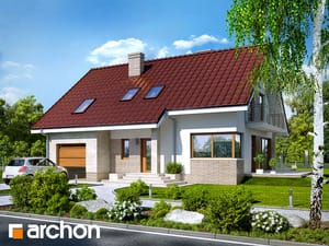 Projekt domu ARCHON+ Dom v idaredách (P)