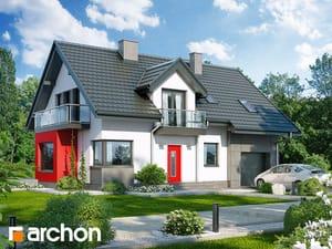 Projekt domu ARCHON+ Dom medzi rododendronmi 8 (N)