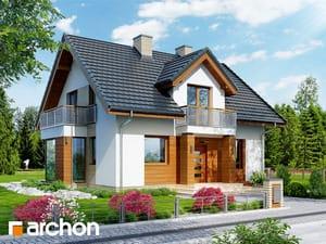 Projekt domu ARCHON+ Dom medzi rododendronmi 6 (WN)
