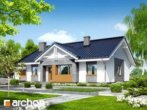 Projekt domu ARCHON+ Dom v akébii 4