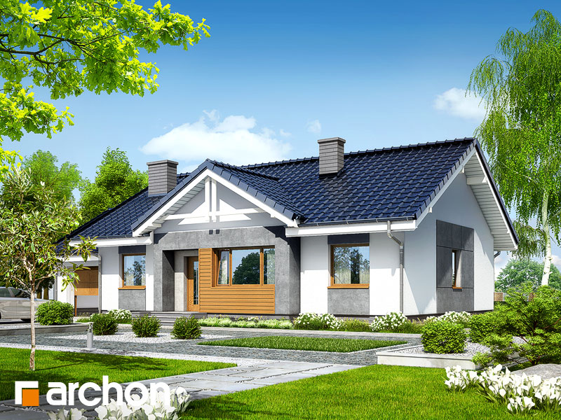 Dom v akébii 4 - Vizualizácia 1