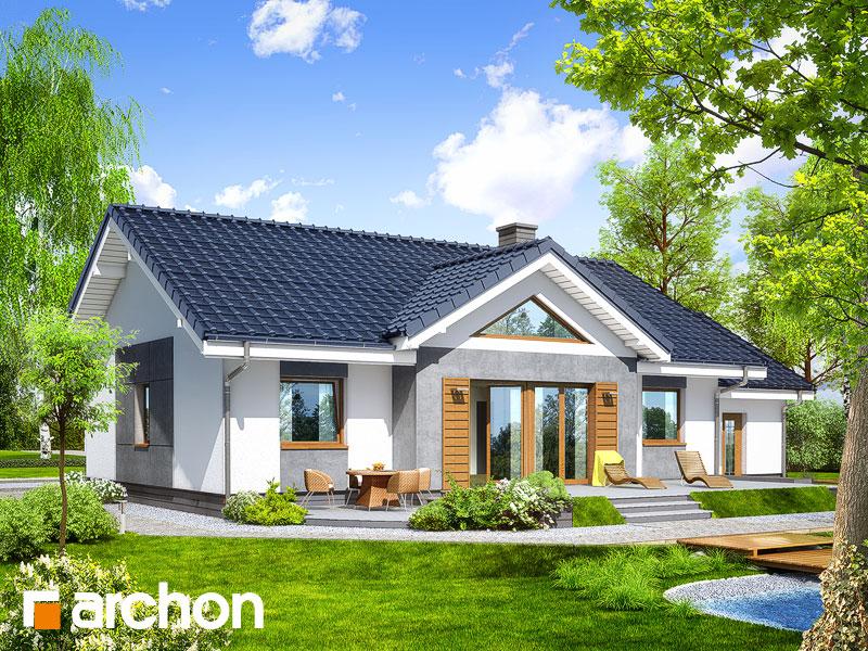 Dom v akébii 4 - Vizualizácia 2