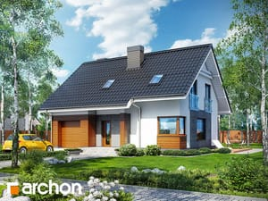 Projekt domu ARCHON+ Dom pri lesnej jabloni