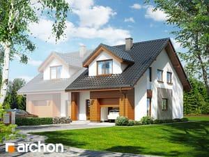 Projekt domu ARCHON+ Dom pod ginkom (GB)