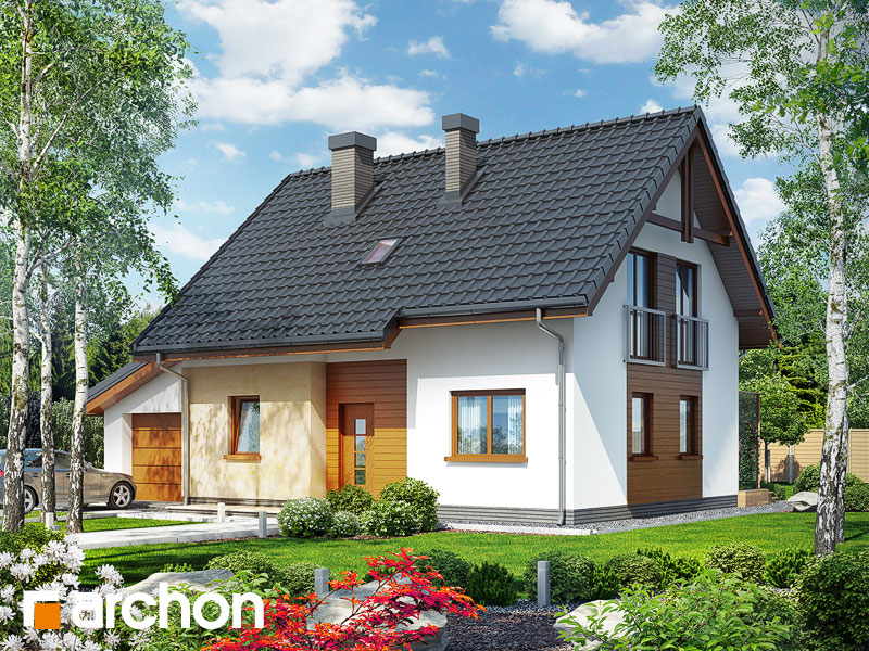 Dom v zelenci (G) - Vizualizácia 1