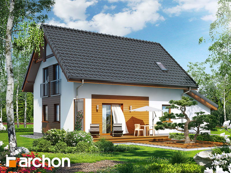 Dom v zelenci (G) - Vizualizácia 2