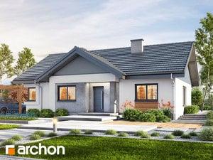 Projekt domu ARCHON+ Dom v chochlačkách