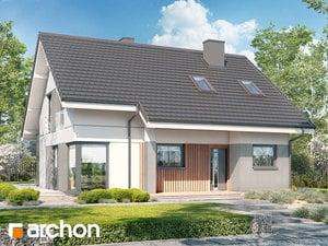 Projekt domu ARCHON+ Dom vo vistériách 2 (W)