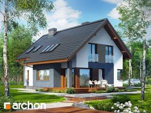 Projekt domu ARCHON+ Dom v trčuliach