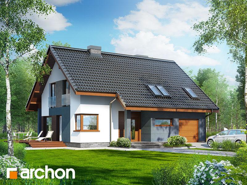 Dom v trčuliach - Vizualizácia 2
