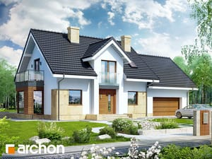 Projekt domu ARCHON+ Dom medzi rododendronmi 6 (G2A)