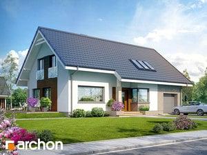 Projekt domu ARCHON+ Dom v bugenvíleách