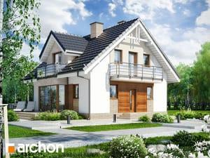 Projekt domu ARCHON+ Dom medzi rododendronmi 5 (WN)