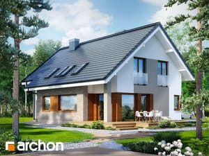 Projekt domu ARCHON+ Dom v trčuliach 2