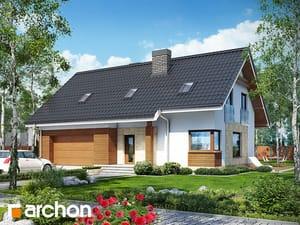 Projekt domu ARCHON+ Dom pri lesnej jabloni (G2)