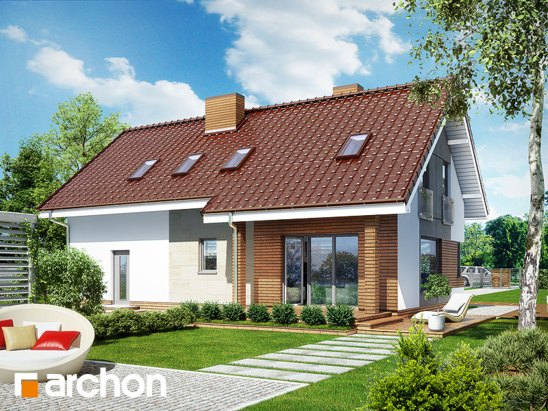 Dom v heucherách (G2) - Vizualizácia 2