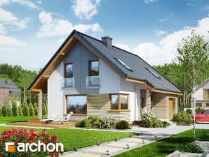 Projekt domu ARCHON+ Dom v heucherách (P)
