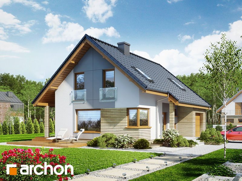 Dom v heucherách (P) - Vizualizácia 1
