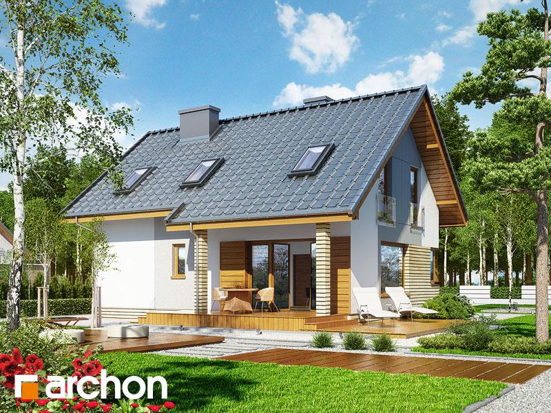 Dom v heucherách (P) - Vizualizácia 2